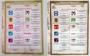 Boletas electorales. | FOTO: Internet.