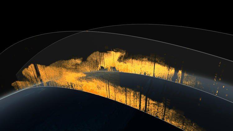 Cortinas de polvo viajan desde el Sahara hasta el Amazonas.(Estudio de Visualización Científica de la NASA Goddard)