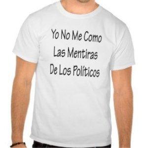políticos mentiras