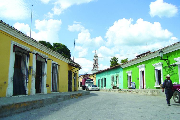 Calles de cosala