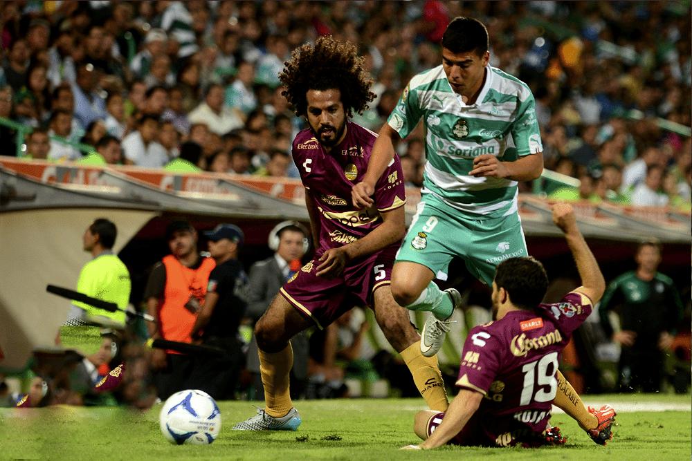 Dorados no pudo. Empate a 1 con Santos.