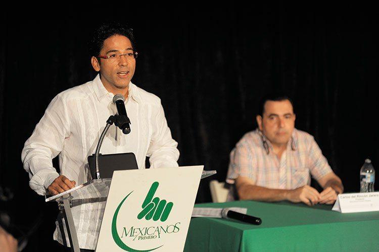 Juan Alfonso Mejía López. Director de Mexicanos Primero, capítulo Sinaloa.