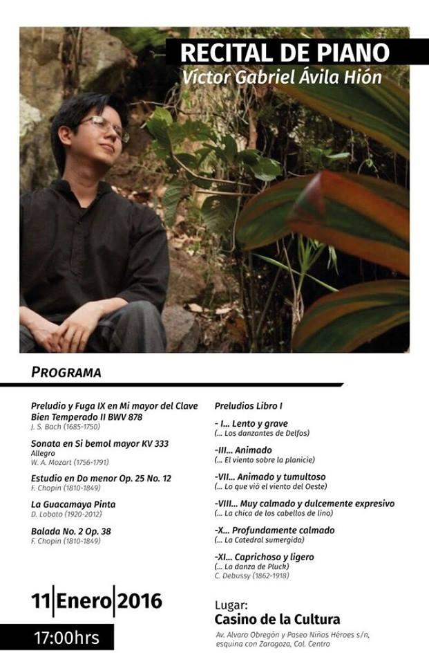 recital-VictorAvila