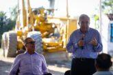 Acompañó al gobernador Quirino Ordaz en gira de trabajo por la perla turística del Pacífico