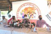 Conferencia de prensa del SNTE 53 sobre la reapertura de escuelas